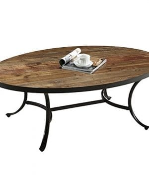 Berkely Reclaimed Wood Round Cocktail Table 0 300x360