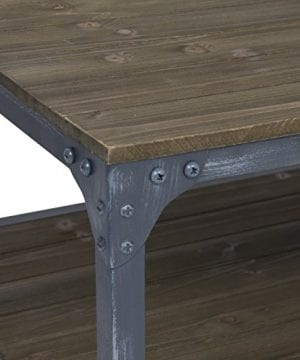 Best Choice Products Industrial Style Wheeled Coffee Table 0 2 300x360