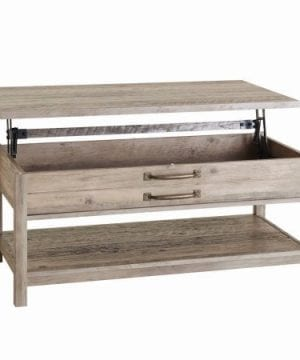 Better Homes Gardens Modern Farmhouse Lift Top Coffee Table Rustic Gray Finish 0 300x360