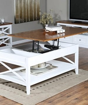 Bistro Coffee Tables White Lift Top Rectangle Wood Cocktail Living Room End Table Side Modern Furniture 0 0 300x360