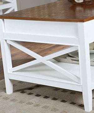 Bistro Coffee Tables White Lift Top Rectangle Wood Cocktail Living Room End Table Side Modern Furniture 0 1 300x360
