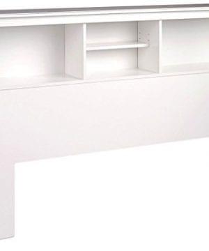 Black Twin Bookcase Headboard 0 300x360