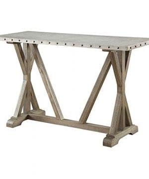 Coaster Furniture Gray Metal Top Sofa Table 0 0 300x360