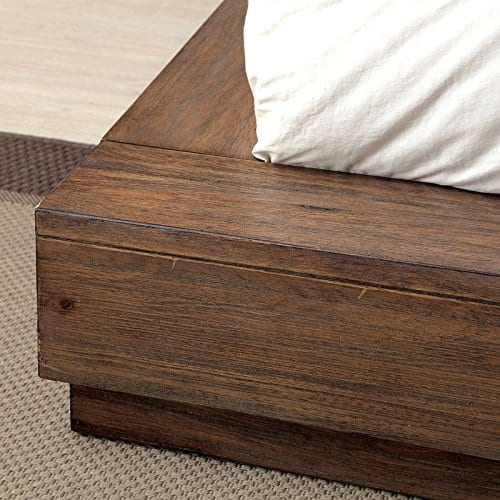 Coimbra Country Style Rustic Natural Tone Bed 0 1