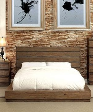 Coimbra Country Style Rustic Natural Tone Bed 0 300x360