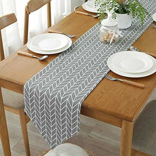Table Linens Home Living Gray, Dining Room Table Runners