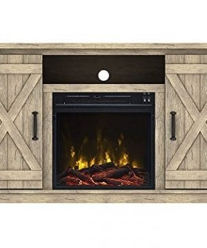 Comfort Smart Killian Electric Fireplace TV Stand 0 300x360