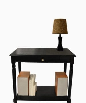 Convenience Concepts French Country Hall Table With Drawer And Shelf 0 300x360