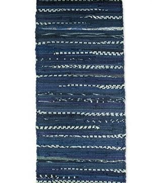 DII 100 Cotton Everyday Machine Washable Chindi Rag Placemat 0 2 300x360
