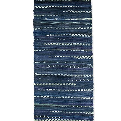 DII 100 Cotton Everyday Machine Washable Chindi Rag Placemat 0 2