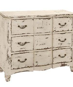 Deco 79 18174 Wood Drawers Chest 42 X 35 Ivory 0 0 300x360