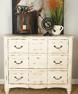 Deco 79 18174 Wood Drawers Chest 42 X 35 Ivory 0 2 300x360