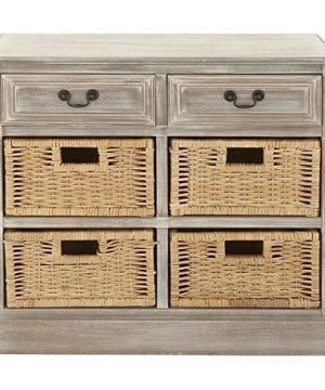 Deco 79 Wood 4 Basket Chest 0 300x360