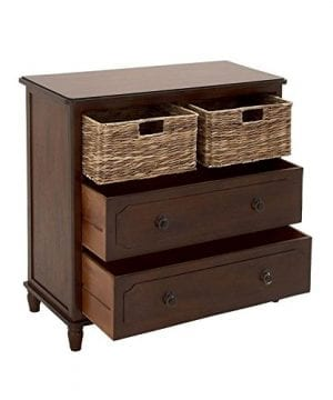 Deco 79 Wood Basket Dresser 0 300x360