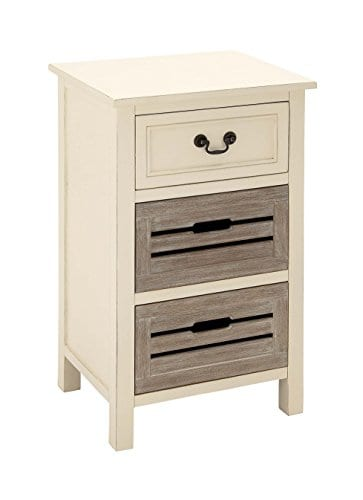 Deco Wood Side Table 0 0