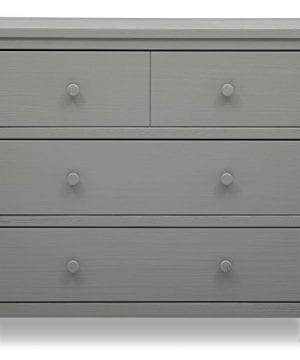 Delta Children Farmhouse 3 Drawer Dresser Rustic Haze Grey 0 2 300x360