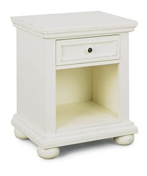 Dover White King Bed Night Stand With Dresser Mirror Parent 0 1 300x360