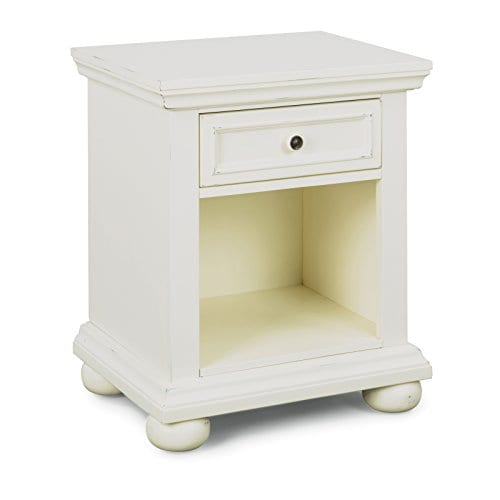 Dover White King Bed Night Stand With Dresser Mirror Parent 0 1