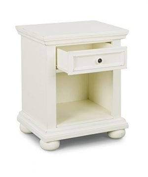 Dover White King Bed Night Stand With Dresser Mirror Parent 0 2 300x360