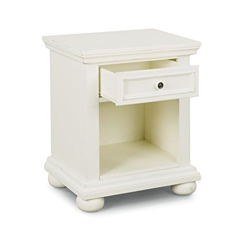 Dover White King Bed Night Stand With Dresser Mirror Parent 0 2