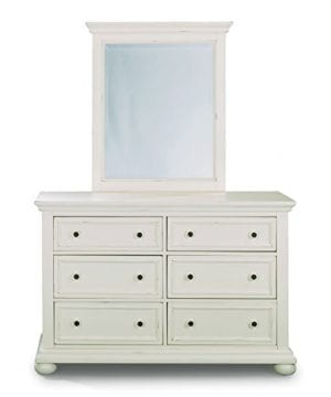 Dover White King Bed Night Stand With Dresser Mirror Parent 0 3 300x360