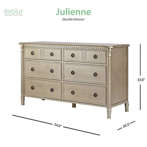 Evolur Julienne 6 Double Dresser 0 2