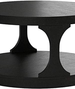 Furniture Of America CM4422C Carrie Antique Black Coffee Tables 0 1 300x353
