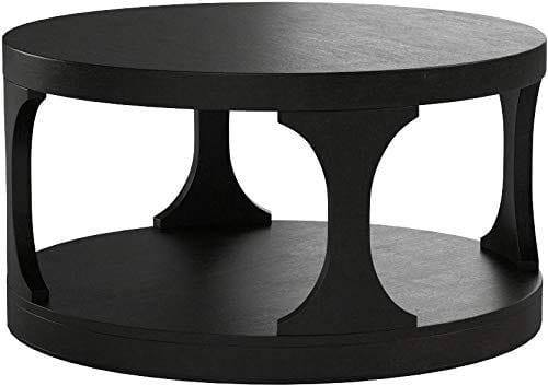Furniture Of America CM4422C Carrie Antique Black Coffee Tables 0 1
