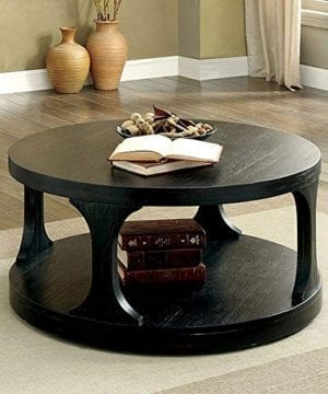 Furniture Of America CM4422C Carrie Antique Black Coffee Tables 0 300x360