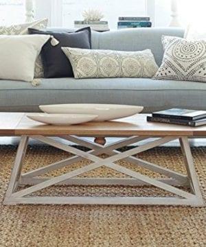 Haven Home 6008 257 Finley Farmhouse Coffee Table White 0 1 300x360