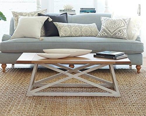 Haven Home 6008 257 Finley Farmhouse Coffee Table White 0 1