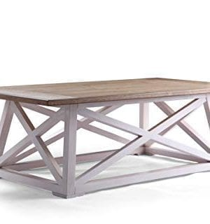 Haven Home 6008 257 Finley Farmhouse Coffee Table White 0 300x320