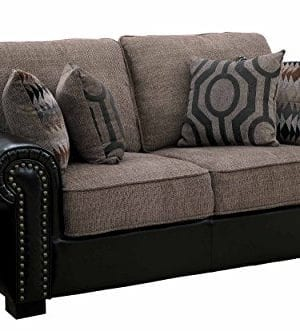 Homelegance Faux LeatherChenille Sofa 0 300x331