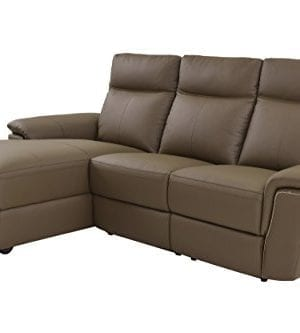 Homelegance Olympia Modern Design Power Reclining Loveseat Top Grain Genuine Leather Match 0 300x333