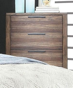 Hutchinson Transitional Style Rustic Natural Tone Finish 6 Piece Bedroom Set 0 1 300x360