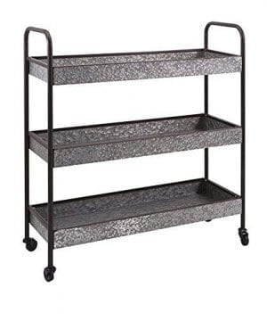 IMAX 30016 Homestead Galvanized Shelf 0 300x360