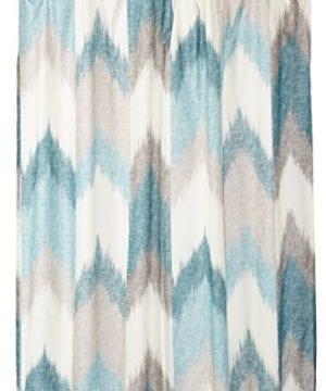InkIvy Alpine Cotton Printed Shower Curtain 0 300x360