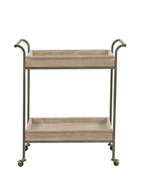 InkIvy II135 0362 Kelly Bar Cart Light Brown 0 300x360