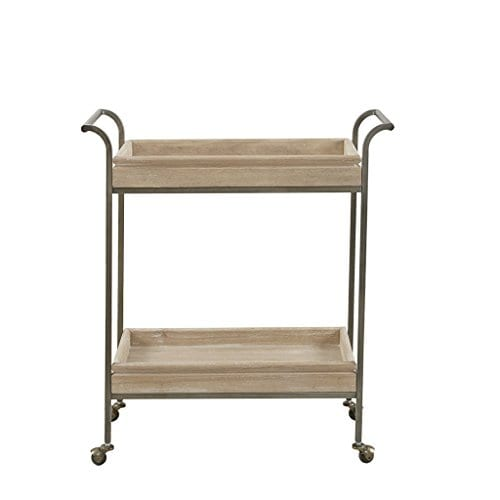Ink+Ivy Kelly Bar Cart, Light Brown