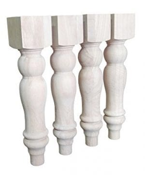 16 Unfinished Farmhouse Bench Legs Or Coffee Table Legs Set Of 4 0 300x360