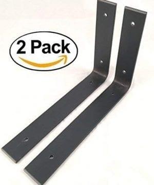 2 Pack 10L X 6H Angle Shelf Bracket Iron Shelf Brackets Metal Shelf Bracket Industrial Shelf Bracket Modern Shelf Bracket Shelving 0 300x360