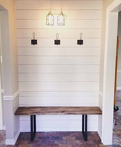 "Romy Square Metal Coffee Table Am Pm: U Shape Coffee Table Or Bench Legs, Set Of 2, 8-12""L X 8"