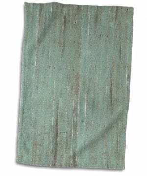 3D Rose Rustic Green Wood Look TWL1832651 Towel 15 X 22 0 300x360