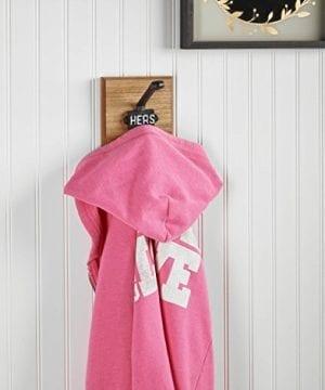 AdirHome Single Coat Hook Hat Hook Towel Hook Hers Wrought Iron 0 0 300x360