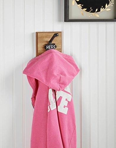 AdirHome Single Coat Hook Hat Hook Towel Hook Hers Wrought Iron 0 0