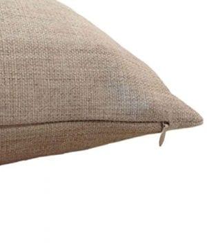 Aeneontrue Cotton Linen Deer Print Decorative Throw Pillow Cover 18 X 18 Inch Home Decor Cushion Cover Case Square 0 1 300x360