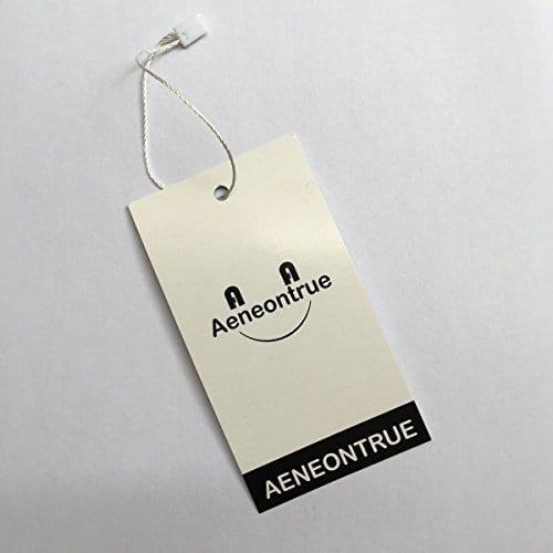 Aeneontrue Cotton Linen Deer Print Decorative Throw Pillow Cover 18 X 18 Inch Home Decor Cushion Cover Case Square 0 3