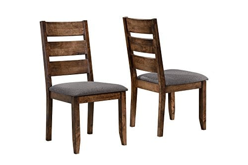 Alston Ladderback Dining Side Chairs Knotty Nutmeg And Grey Set Of 2 0 0