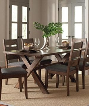 Alston Ladderback Dining Side Chairs Knotty Nutmeg And Grey Set Of 2 0 1 300x360
