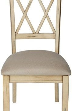 Ashley Furniture Signature Design Mestler Dining Side Chair Upholstered Seat Set Of 2 Antique White 0 0 236x360